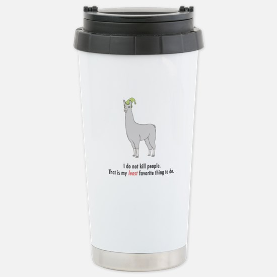 Least Favorite Thing Stainless Steel Travel Mug