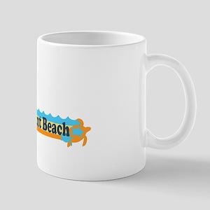 Point Pleasant Beach NJ - Beach Design Mug
