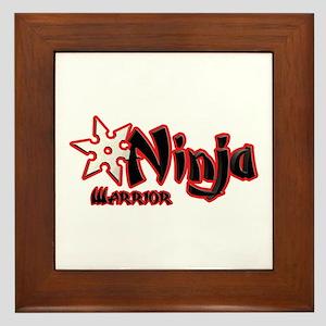 Ninja Warrior Framed Tile