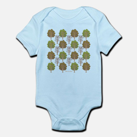 Argyle Tree Infant Bodysuit