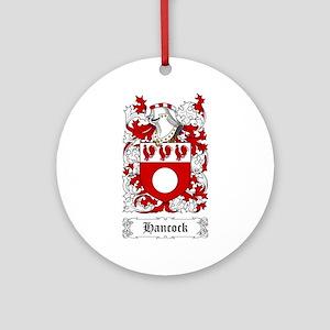 Hancock Ornament (Round)