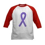 Violet Ribbon Kids Baseball Jersey