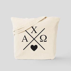 Alpha Chi Omega Cross Tote Bag