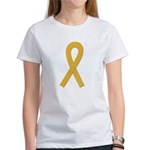 Gold Ribbon Women's T-Shirt