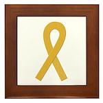 Gold Ribbon Framed Tile