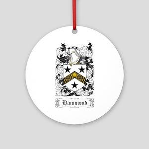 Hammond Ornament (Round)