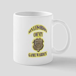 San Louis Obispo Warden Mug