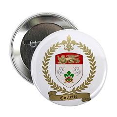 "COLLETTE Family Crest 2.25"" Button"