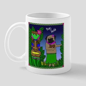 Pug Hula Mug