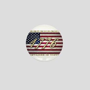 American Flag (1776) Mini Button