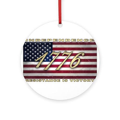 American Flag (1776) Ornament (Round)