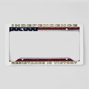American Flag (1776) License Plate Holder