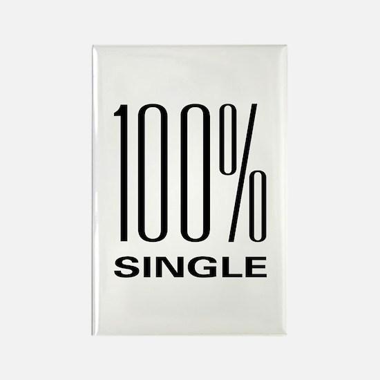 100% Single Rectangle Magnet