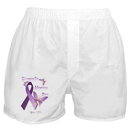 Fibromyalgia Awareness Day Boxer Shorts