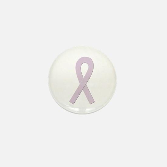 Orchid Ribbon Mini Button