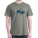 Blue Ninja Logo Dark T-Shirt