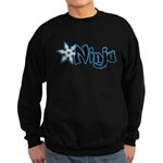 Blue Ninja Logo Sweatshirt (dark)