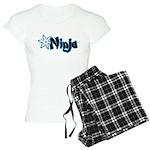 Blue Ninja Logo Women's Light Pajamas