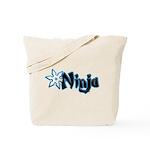 Blue Ninja Logo Tote Bag