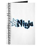 Blue Ninja Logo Journal