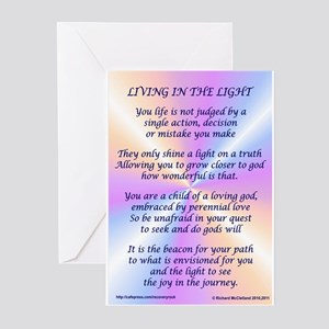 Living In The Light Greeting Cards (Pk of 20)