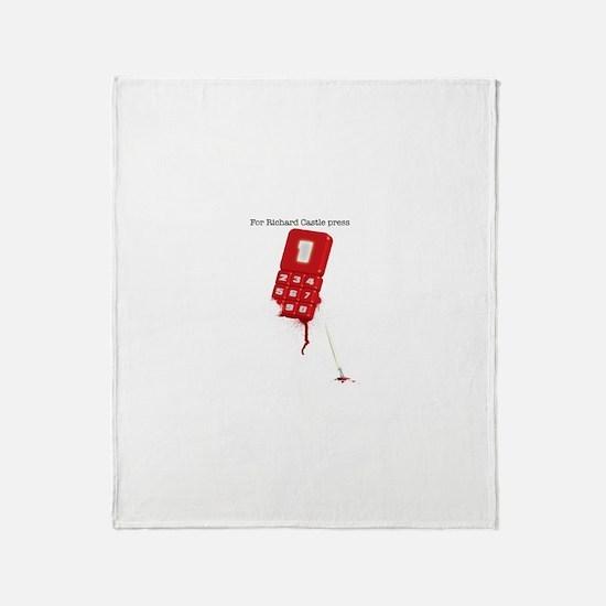 For Richard Castle... Throw Blanket