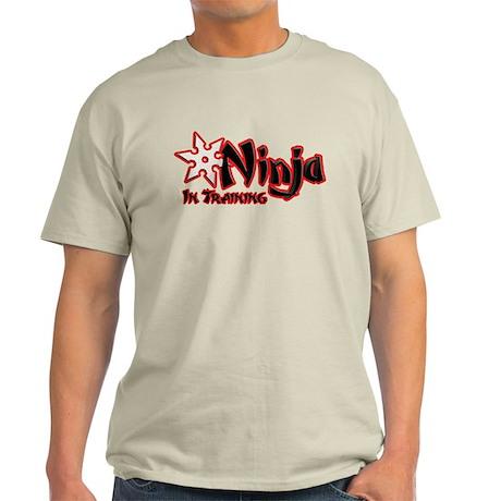 Ninja in Training Light T-Shirt