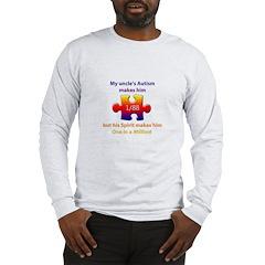 1 in Million (Uncle w Autism) L/S T-shirt