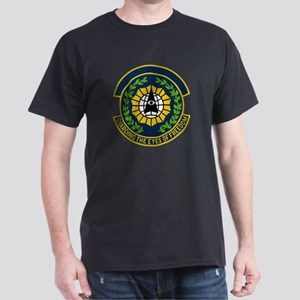 9th Security Police Black T-Shirt