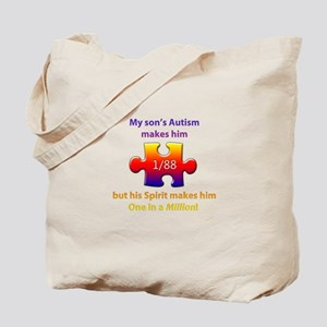 1 in Million (Son w Autism) Tote Bag
