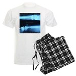 Motorcycle awareness x-ray Men's Light Pajamas