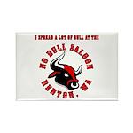 No Bull 5 Rectangle Magnet (10 pack)