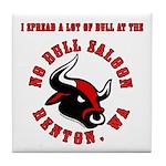 No Bull 5 Tile Coaster