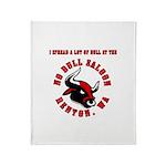 No Bull 5 Throw Blanket