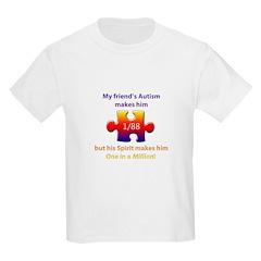 1 in Million (m Friend w Autism) T-Shirt