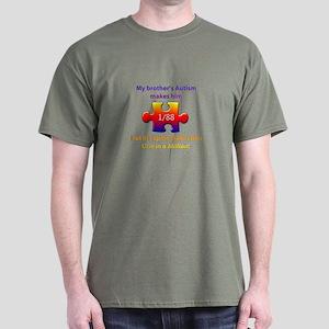 1 in Million (Brother w Autism) Dark T-Shirt