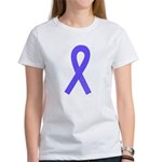 Periwinkle Ribbon Women's T-Shirt