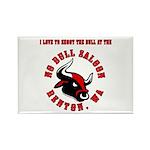 No Bull 7 Rectangle Magnet (10 pack)