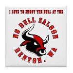 No Bull 7 Tile Coaster