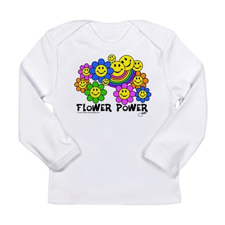 Flower Power World Peace and Long Sleeve Infant T-