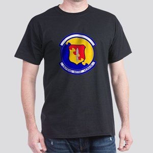 31st Security Police Black T-Shirt