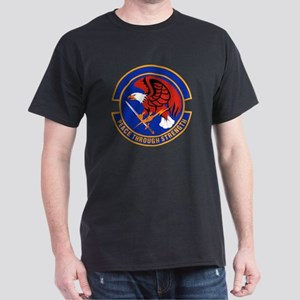 39th Security Police Black T-Shirt
