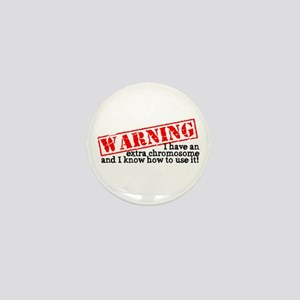 Warning Mini Button