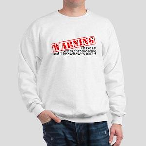 Warning Sweatshirt