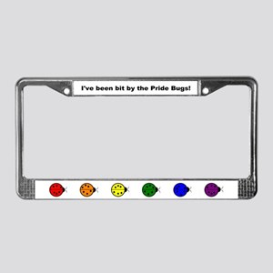 Pride Bugs License Plate Frame