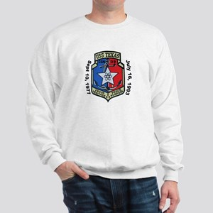 USS Texas CGN 39 Decomm Sweatshirt