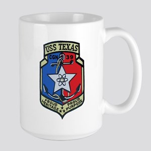 USS Texas CGN 39 Large Mug