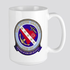 USS South Carolina CGN 37 Large Mug