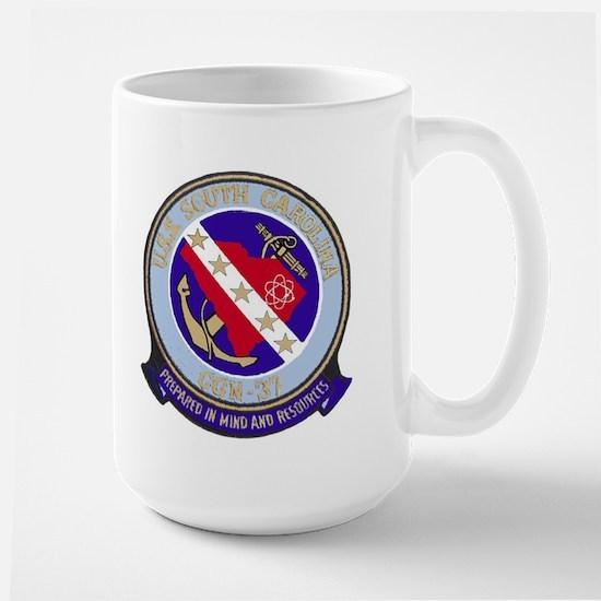 USS South Carolina CGN 37 Large Mug