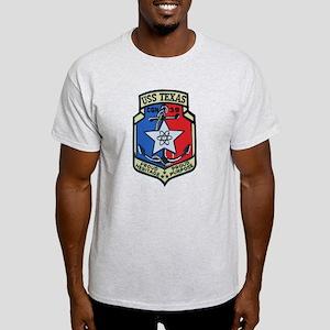 USS Texas CGN 39 Light T-Shirt